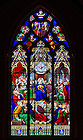 May 23, 2013; East window in the Basilica of the Sacred Heart.<br /> <br /> Photo by Matt Cashore/University of Notre Dame