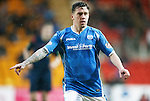 St Johnstone v Aberdeen...06.02.16   SPFL   McDiarmid Park, Perth<br /> Danny Swanson on his return to McDiarmid Park<br /> Picture by Graeme Hart.<br /> Copyright Perthshire Picture Agency<br /> Tel: 01738 623350  Mobile: 07990 594431
