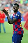Presentation 1st team FC Barcelona 2019/2020.<br /> Samuel Umtiti.