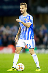 Real Sociedad's Sergio Canales during Europa League, Group L, match 1. September 14,2017. (ALTERPHOTOS/Acero)