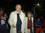 MIRIAM MAFAI CON ALFREDO REICHLIN<br /> PREMIO LETTERARIO CAPALBIO 2002