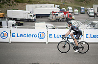 Nils Eekhof (NED/DSM) up Luz Ardiden<br /> <br /> Stage 18 from Pau to Luz Ardiden (130km)<br /> 108th Tour de France 2021 (2.UWT)<br /> <br /> ©kramon