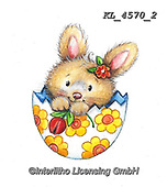 EASTER, OSTERN, PASCUA, paintings+++++,KL4570/2,#e#, EVERYDAY ,rabbit,rabbits ,sticker,stickers