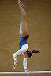 28.08.2010  Womens Gymnastics Great Britain v Switzerland Gateshead.Rebecca Downie in action for GB..Photos by Alan Edwards