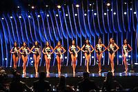 SAO PAULO, SP. 16.05.2015 - MISS-SÃO PAULO -  As dez candidatas finalistas durante a 61º edição do concurso Miss São Paulo, na noite deste sábado (16), no Anhembi, na zona norte da capital paulista.  (Foto: Adriana Spaca/Brazil Photo Press)