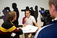 17-12-10, Tennis, Rotterdam, Reaal Tennis Masters 2010, Coen Vemer van Tennis Magazine interviews Thiemo de Bakker