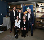 Oliver Chris, Lydia Wilson, Richard Goulding, Margot Leicester and Tim Pigott-Smith attend a welcome to New York party for the cast of  Broadway's 'King Charles III' at 58 Gansevoorton October 5, 2015 in New York City.