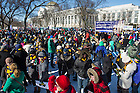 Jan. 22, 2014; 2014 March for Life in Washington, DC. Photo by Barbara Johnston/University of Notre Dame