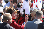 Sarah Palin signed autographs and had her picture taken with hundreds of supporters who attended the Tea Party Express kick off Monday morning, Oct. 18, 2010, in Reno, Nev. .Photo by Cathleen Allison