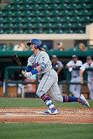 St. Lucie Mets Nick Meyer (26) during a Florida State League game against the Lakeland Flying Tigers on April 24, 2019 at Publix Field at Joker Marchant Stadium in Lakeland, Florida.  Lakeland defeated St. Lucie 10-4.  (Mike Janes/Four Seam Images)