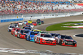 2017 NASCAR Xfinity Series - Boyd Gaming 300<br /> Las Vegas Motor Speedway - Las Vegas, NV USA<br /> Saturday 11 March 2017<br /> Kyle Busch, NOS Energy Drink Toyota Camry and Joey Logano restart<br /> World Copyright: Russell LaBounty/LAT Images<br /> ref: Digital Image 17LAS1rl_2777