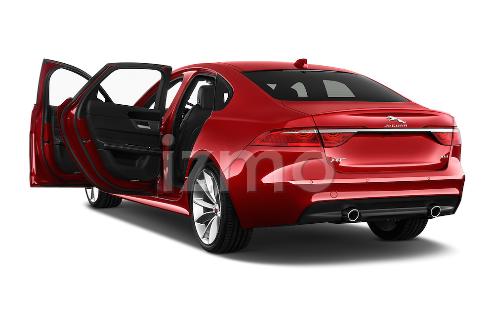 Car images of 2018 Jaguar XF 35t-R-Sport 4 Door Sedan Doors