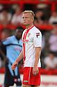 Jordan Burrow of Stevenage<br />   Stevenage v QPR XI - Pre-season friendly - Lamex Stadium, Stevenage - 16th July, 2013<br />  © Kevin Coleman 2013<br />  <br /> <br />  <br />  <br /> <br />  <br />  © Kevin Coleman 2013