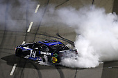 MARTINSVILLE, VIRGINIA - JUNE 10: Martin Truex Jr., driver of the #19 SiriusXM Toyota, celebrates after winning the NASCAR Cup Series Blue-Emu Maximum Pain Relief 500 at Martinsville Speedway on June 10, 2020 in Martinsville, Virginia. (Photo by Rob Carr/Getty Images)