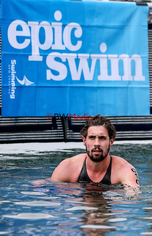 Michael Mincham. Swimming New Zealand Open Water Championships, 10km Epic, Lake Taupo, Waikato, New Zealand, Saturday 13 January 2018. Photo: Simon Watts/www.bwmedia.co.nz