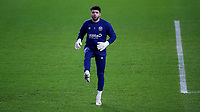 Brentford goalkeeper, David Raya, warms up ahead of kick-off during Brentford vs Luton Town, Sky Bet EFL Championship Football at the Brentford Community Stadium on 20th January 2021