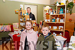 Craft Fair: Sadie & Michael Duffy with stall holder Pat Murphy at the Craft fair at the Kerry Writers Museum, Listowel on Sunday last.