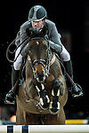Philipp Weishaupt of Germany riding Souvenir in action during the Gucci Gold Cup as part of the Longines Hong Kong Masters on 14 February 2015, at the Asia World Expo, outskirts Hong Kong, China. Photo by Johanna Frank / Power Sport Images
