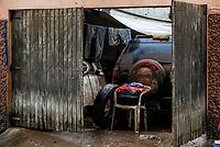SÃO CAETANO DO SUL (SP), 11.03.2019: CHUVA-SP - Estragos causados pela chuva e alagamentos no bairro Fundação, em São Caetano, que faz divisa com São Paulo. (Foto: Carla Carniel/Código19)