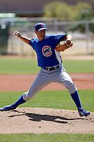 Casey Coleman - Chicago Cubs - 2009 spring training.Photo by:  Bill Mitchell/Four Seam Images
