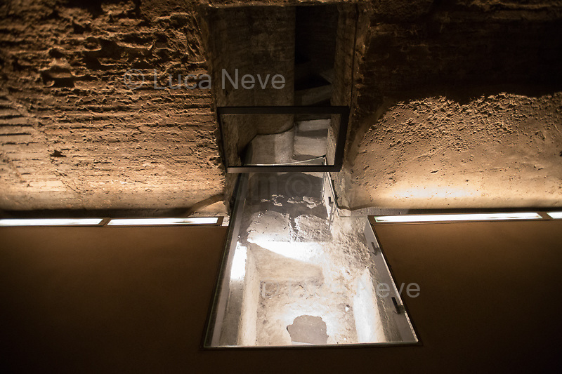 """Rome, 10/03/2019. Visiting and documenting le Terme Di Diocleziano (the Bath Of Diocletian) part of the Museo Nazionale Romano (National Roman Museum, 1.).<br /> «[…] The magnificent structure of the bath, the largest in Ancient Rome, was built between the years 298 and 306 A.D. As well as holding the traditional pools of water at various temperatures (calidarium, frigidarium and tepidarium), the bath also included a central hall, an open-air swimming pool [natatio] and many other rooms which were put to various uses. Today, part of the perimeter of the bath is occupied by the Church of Saint Mary of the Angels […]» (2.).<br /> «[…] Il grandioso impianto delle Terme di Diocleziano, le più grandi di Roma Antica, venne costruito tra il 298 e il 306 d.C. L'edificio, oltre ai tradizionali ambienti con vasche d'acqua di diverse temperature (calidarium, frigidarium e tepidarium) comprendeva un'aula centrale basilicale, la piscina scoperta (natatio) e molte altre sale di ritrovo. Parte del seminterrato è oggi occupato dalla Chiesa di Santa Maria degli Angeli […]» (2.).<br /> This visit was possible thanks to the Italian State initiative: """"Domeniche al Museo"""" (Sunday at the Museum, 4.).<br /> <br /> Footnotes & Links:<br /> 1. For a brief history of the National Roman Museum - ENG & ITA - and photos of one of its other three locations: Palazzo Massimo: https://lucaneve.photoshelter.com/gallery/Palazzo-Massimo-alle-Terme-Museo-Nazionale-Romano-National-Roman-Museum/G0000iKZ_0nC4r7k/C0000JKfmZjrIXSQ<br /> 2. (Source, Coopculture.it ENG & ITA) https://www.coopculture.it/en/heritage.cfm?id=67 & https://www.coopculture.it/heritage.cfm?id=67<br /> 3. (Source, Wikipedia.org, ENG & ITA) https://en.wikipedia.org/wiki/Baths_of_Diocletian & https://it.wikipedia.org/wiki/Terme_di_Diocleziano<br /> 4. http://musei.beniculturali.it/en/eventi/domenicalmuseo"""