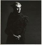 Scan of vintage print. Mary Vartikian, design instructor, Art Center College of Design, 1971.