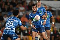 3rd April 2021; Eden Park, Auckland, New Zealand;  Sam Nock.<br /> Blues v Hurricanes Super Rugby Aotearoa. Eden Park, Auckland. New Zealand.