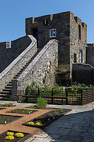 Royaume-Uni, îles Anglo-Normandes, île de Guernesey, Saint Peter Port: <br /> Castle Cornet: la prison // United Kingdom, Channel Islands, Guernsey island, Saint Peter Port:  Castle Cornet, Town Prison