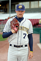 September 10, 2009: Brendan Lafferty of the Burlington Bees. The Bees are the Midwest League affiliate for the Kansas City Royals. Photo by: Chris Proctor/Four Seam Images
