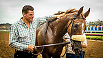 JULY 24, 2021: Taylor Cambra with United after winning the Eddie Read Stakes at Del Mar Fairgrounds in Del Mar, California on July 24, 2021. Evers/Eclipse Sportswire/CSM
