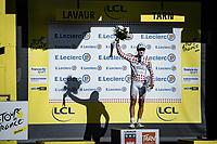 polka dot jersey Benoit Cosnefroy (FRA/AG2R La Mondiale)<br /> <br /> Stage 7 from Millau to Lavaur 168km<br /> 107th Tour de France 2020 (2.UWT)<br /> (the 'postponed edition' held in september)<br /> ©kramon