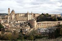 Veduta di Urbino.<br /> Overview of Urbino<br /> UPDATE IMAGES PRESS/Riccardo De Luca