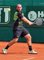 10-07-13, Netherlands, Scheveningen,  Mets, Tennis, Sport1 Open, day three, Colin Ebelthite (AUS)<br /> <br /> <br /> Photo: Henk Koster