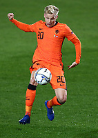 Football: Uefa Nations League Group A match Italy vs Netherlands at Gewiss stadium in Bergamo, on October 14, 2020.<br /> Netherlands' Luuk de Jong in action during the Uefa Nations League match between Italy and Netherlands at Gewiss stadium in Bergamo, on October 14, 2020. <br /> UPDATE IMAGES PRESS/Isabella Bonotto