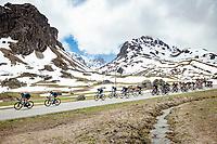descending the Cormet de Roselend <br /> <br /> 73rd Critérium du Dauphiné 2021 (2.UWT)<br /> Stage 7 from Saint-Martin-le-Vinoux to La Plagne (171km)<br /> <br /> ©kramon