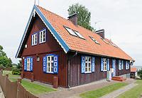 Fischerhaus  auf der kurischen Nehrung, Litauen, Europa