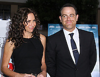 """HOLLYWOOD, LOS ANGELES, CA, USA - MAY 01: Minnie Driver, Paul Adelstein at the Los Angeles Premiere Of Lifetime Television's """"Return To Zero"""" held at Paramount Studios on May 1, 2014 in Hollywood, Los Angeles, California, United States. (Photo by Xavier Collin/Celebrity Monitor)"""