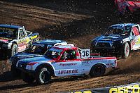 Dec. 10, 2011; Chandler, AZ, USA;  LOORRS pro lite unlimited driver Rodrigo Ampudia during round 15 at Firebird International Raceway. Mandatory Credit: Mark J. Rebilas-