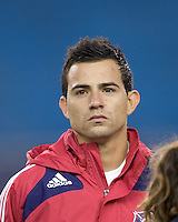 Chicago Fire midfielder Marco Pappa (16). The New England Revolution tied the Chicago Fire, 0-0, at Gillette Stadium on October 17, 2009.