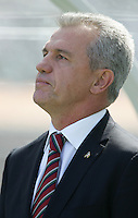 Javier Aguirre. Mexico defeated Nicaragua 2-0 during the First Round of the 2009 CONCACAF Gold Cup at the Oakland, Coliseum in Oakland, California on July 5, 2009.