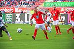 Tim Rieder im Spiel gegen den SV Waldhof Mannheim beim Spiel in der 3. Liga, 1. FC Kaiserslautern - SV Waldhof Mannheim.<br /> <br /> Foto © PIX-Sportfotos *** Foto ist honorarpflichtig! *** Auf Anfrage in hoeherer Qualitaet/Aufloesung. Belegexemplar erbeten. Veroeffentlichung ausschliesslich fuer journalistisch-publizistische Zwecke. For editorial use only. DFL regulations prohibit any use of photographs as image sequences and/or quasi-video.