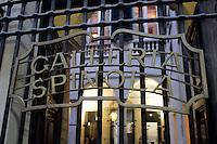 L'entrata di Palazzo Spinola a Genova.<br /> The entrance of Palazzo Spinola in Genoa.<br /> UPDATE IMAGES PRESS/Riccardo De Luca
