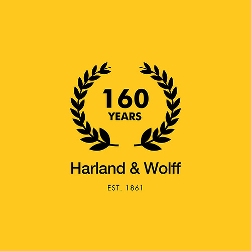 Harland & Wolff Shipyard was founded on April 11 1861