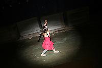 CHINA. Beijing. A young girl in the shopping district of Xidan . 2008