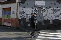 """Il QUADRARO-Quartiere di Roma<br /> The Buckingham Warrior"""" di Gary Baseman (2012) – Largo dei Quintili<br /> <br /> Museo di Urban Art di Roma - primo progetto di museo romano di street art completamente integrato nel tessuto sociale, un vero e proprio museo a cielo aperto, dove poter ammirare i lavori realizzati da importanti street artist italiani e stranieri.<br /> Urban Art Museum of Rome - Roman open-air street art museum project with works by Italian and foreign street artists."""