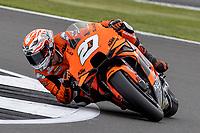 28th August 2021; Silverstone Circuit, Silverstone, Northamptonshire, England; MotoGP British Grand Prix, Qualifying Day; Tech3 KTM Factory Racing rider Ilker Lecuona on his KTM RC16