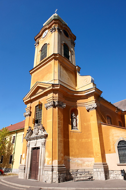 Baroque church, Eger Hungary