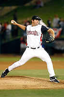Bryan Orland ---  At the annual California League-Carolina League all-star game at the Diamond in Lake Elsinore, CA - 06/23/2009. The game was won by the California League, 2-1, on a walk-off homerun by Lancaster's Jon Gaston..Photo by:  Bill Mitchell/Four Seam Images