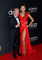 LOS ANGELES, USA. November 04, 2019: John Savage & Blanca Blanco at the 23rd Annual Hollywood Film Awards at the Beverly Hilton Hotel.<br /> Picture: Paul Smith/Featureflash