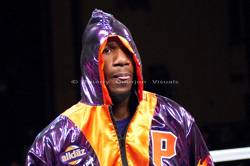 Paul Williams vs Sergio Martinez - 12 Rds Middleweight Bout - 12.05.09Atlantic City, NJ. Dec. 05, 2009: Paul Williams enters the ring before his 12 Rounds middleweight fight against Sergio Martinez at the Boardwalk Hall on Saturday, December 5th 2009. Williams won by a majority decision. Photos by Thierry Gourjon.